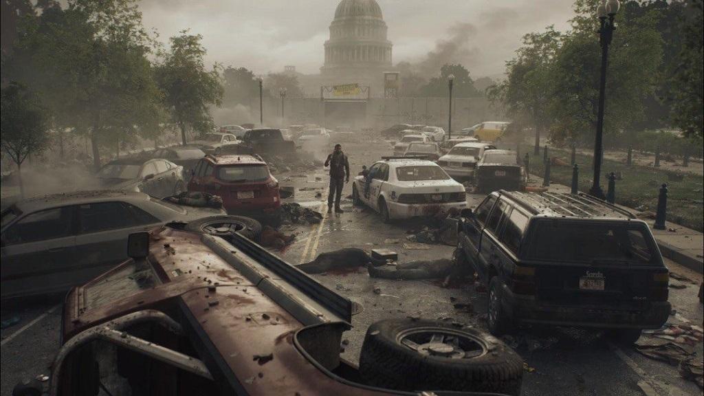 OVERKILL's The Walking Dead; screenshot: Washington