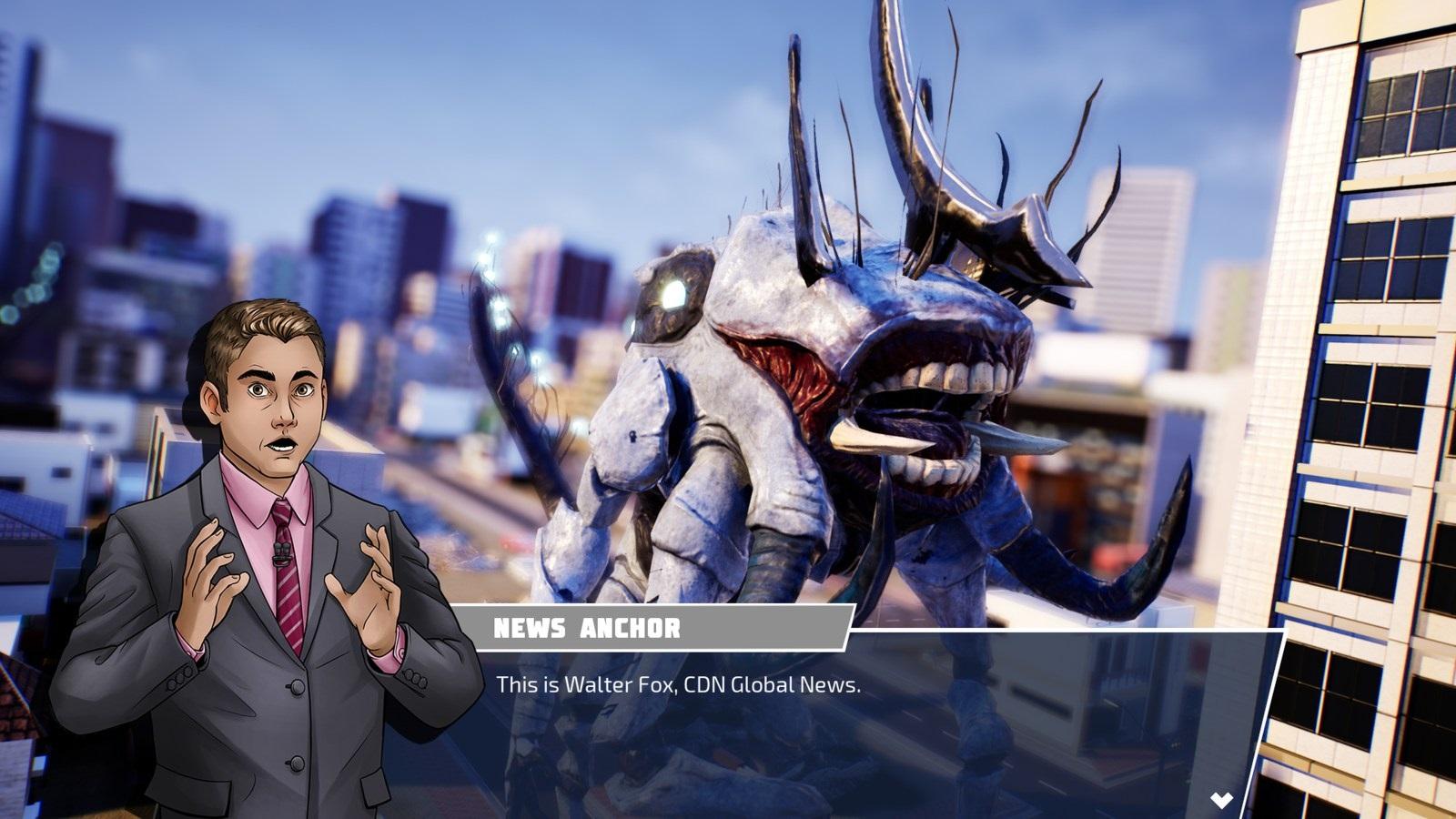 Override: Mech City Brawl; gameplay: příběh