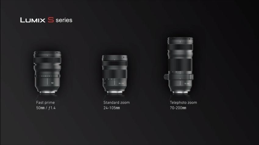 Panasonic Lumix Objektivy S