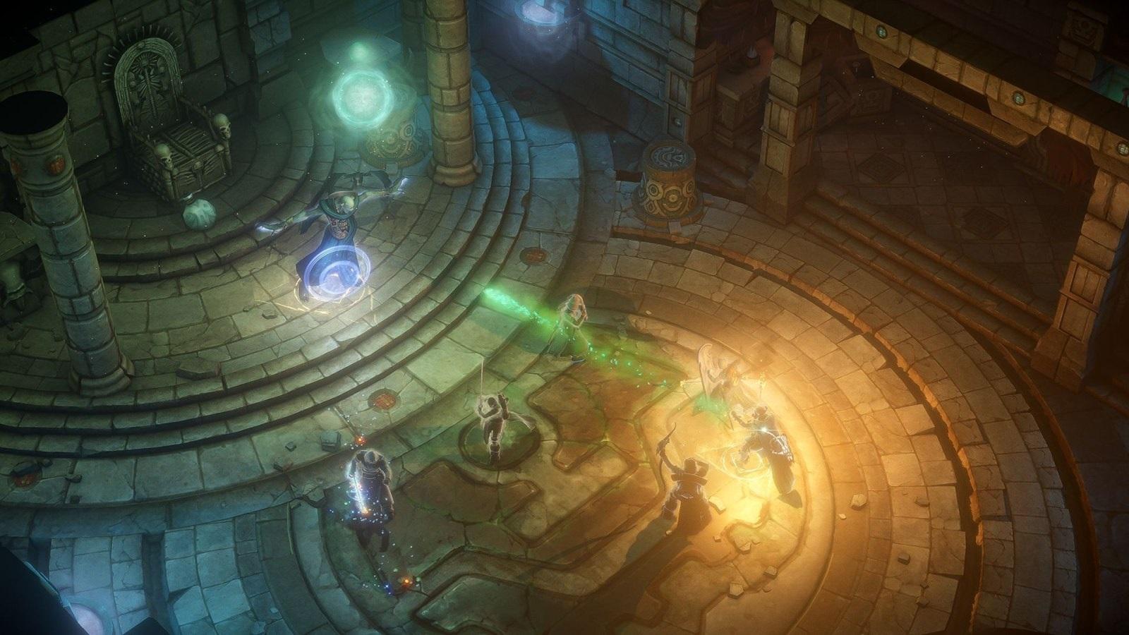 Pathfinder: Kingmaker; screenshot: lich