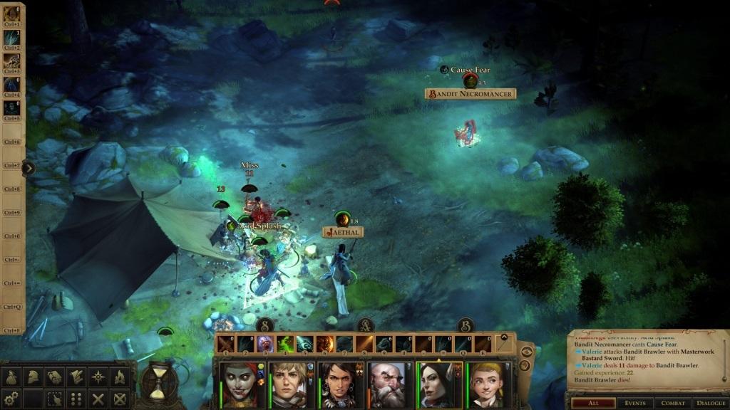 Pathfinder: Kingmaker; gameplay: přepad