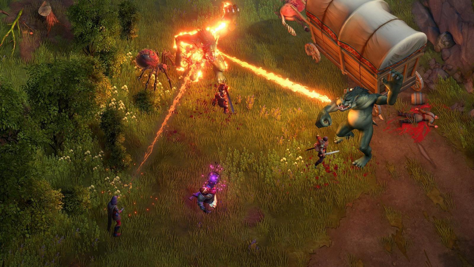 Pathfinder: Kingmaker; screenshot: troll