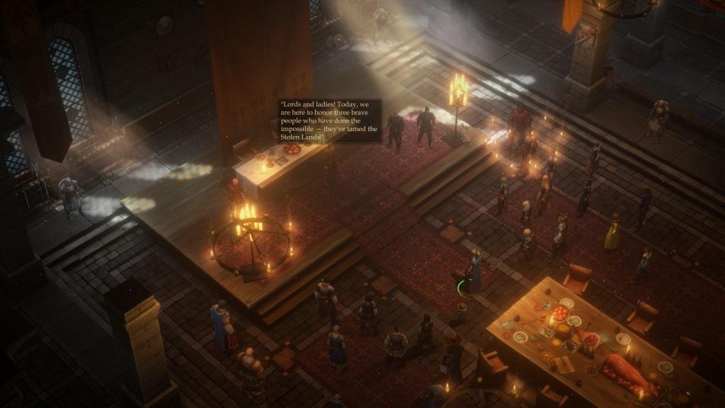 Pathfinder: Kingmaker; gameplay: udělení funkce