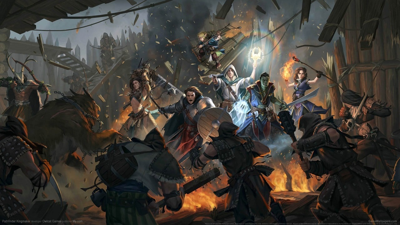Pathfinder: Kingmaker, screenshot