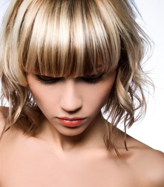 Krátký účes je pro jemné vlasy ideální