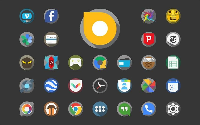 Personalizace - Sady ikon