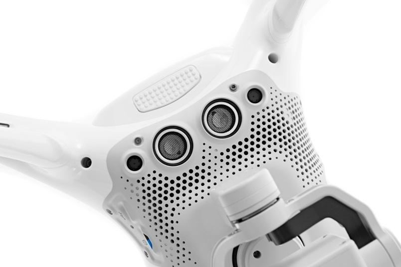 Senzory dronu Phantom 4