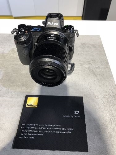 Photokina Nikon Z7