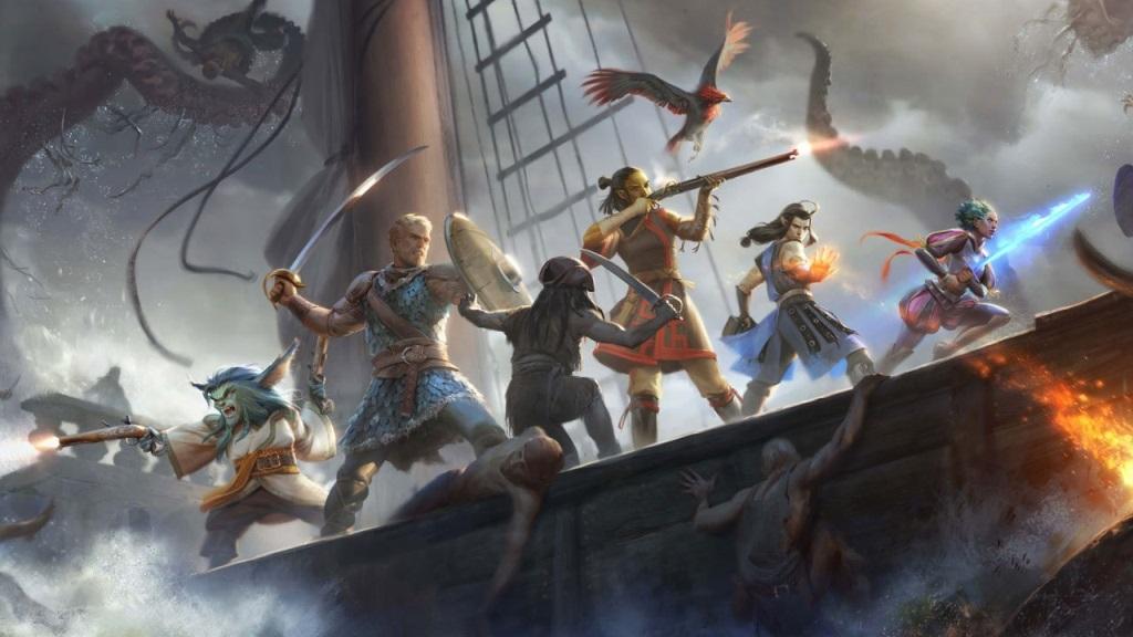 Pillars of Eternity 2; Wallpaper: hrdinové