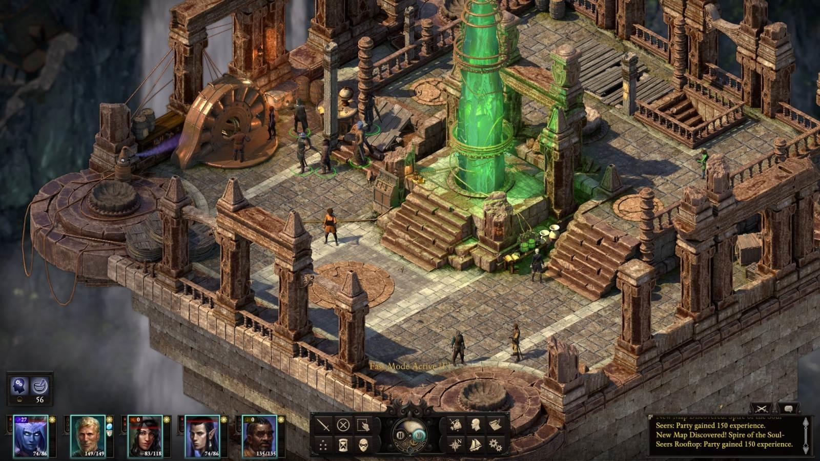 Pillars of Eternity 2: Deadfire; screenshot: středisko