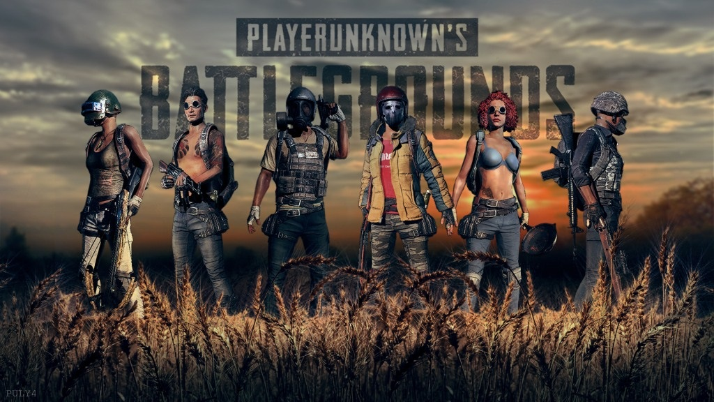 PlayerUnknown's Battlegrounds; Wallpaper: Logo