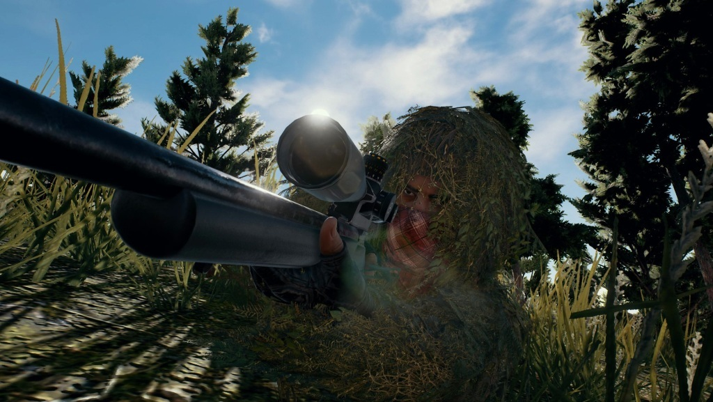 PlayerUnknown's Battlegrounds; Wallpaper: sniper