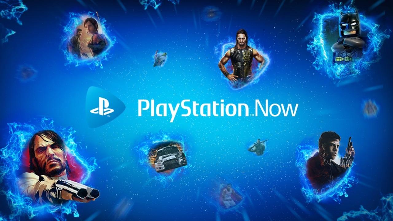 PlayStation 5; screenshot: PlayStation Now