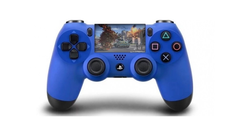 PlayStation 5; screenshot: dotykový displej