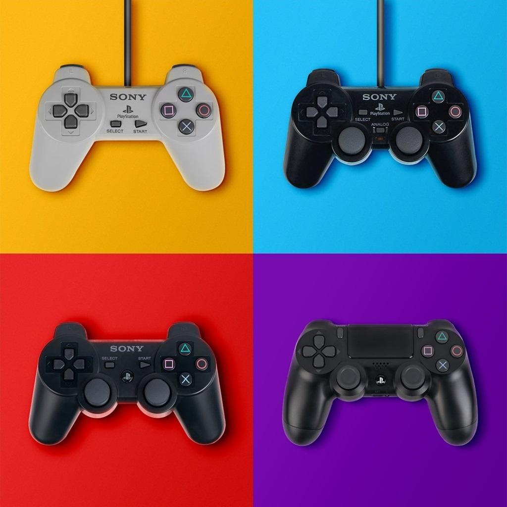 PlayStation 5; screenshot: ovladače evoluce