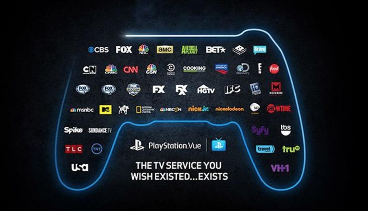 Microsoft a Sony spolupráce; screenshot: PlayStation Vue