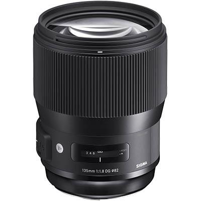 Portrétní objektiv Sigma 135mm f/1,8 pro digitální zrcadlovky
