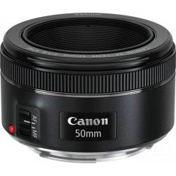 Portrétní pevný objektiv Canon EF 50mm f/1,8 STM