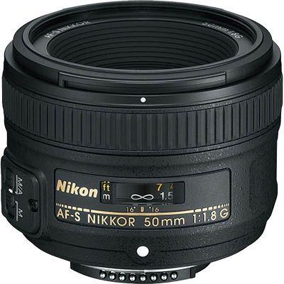 Portrétní objektiv Nikon Nikkor 50mm