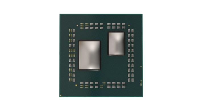Ryzen 3000, pohled na čip