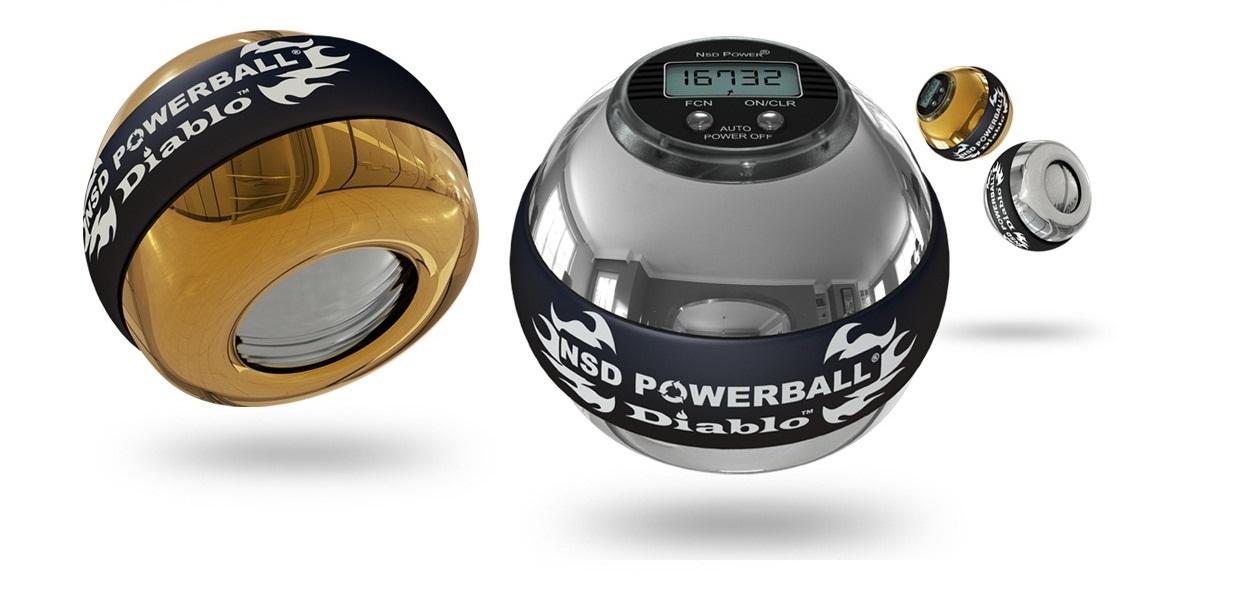Powerball - vynikající posilovací nástroj i rehabilitační pomůcka