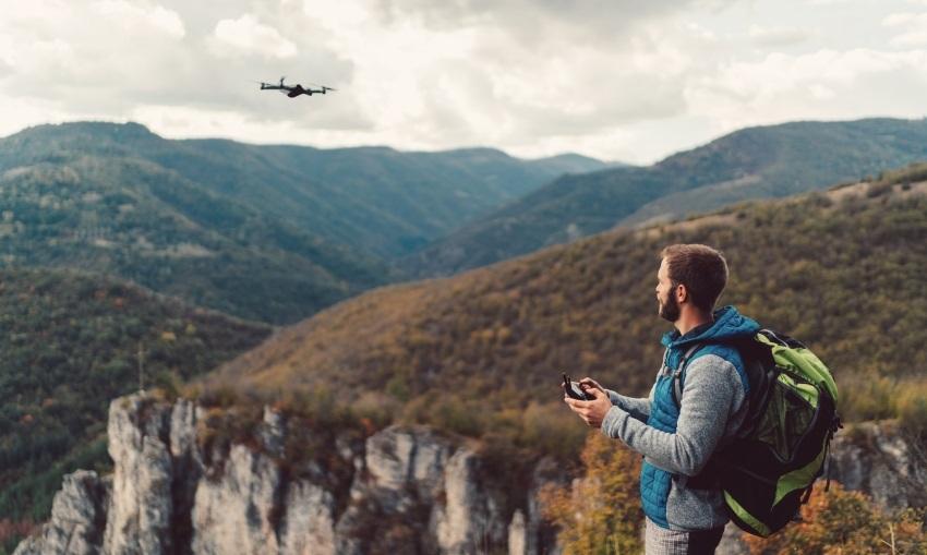 Drony legislativa - létání na dohled