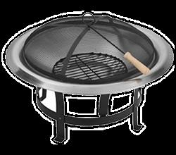 Gril na dřevěné uhlí malý, přenosný