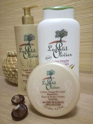 Produkty francouzské kosmetické značky LE PETIT OLIVIER