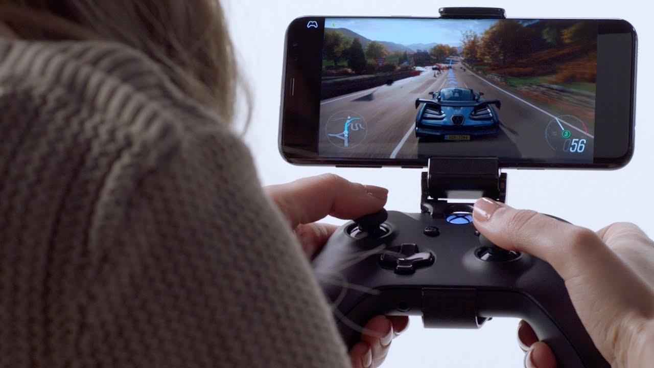 Xbox Two project Scarlett; screenshot: xCloud