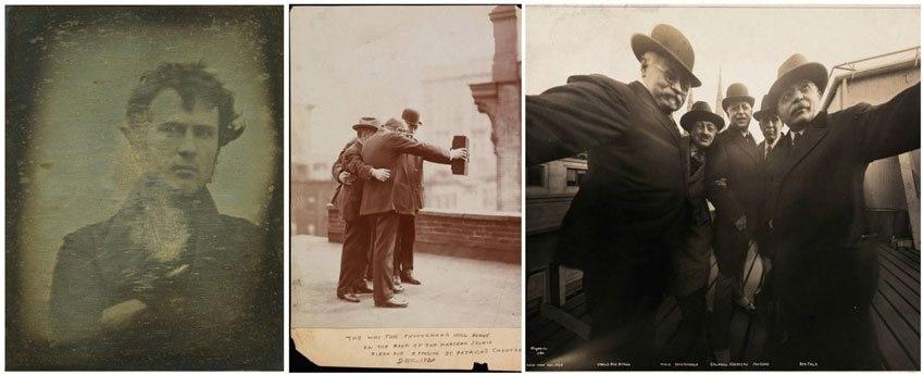 První selfie