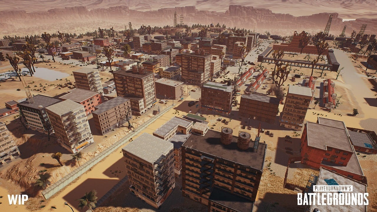 PlayerUnknown's Battlegrounds; miramar, mesto