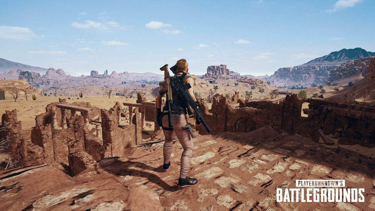 PlayerUnknown's Battlegrounds; miramar, ruiny