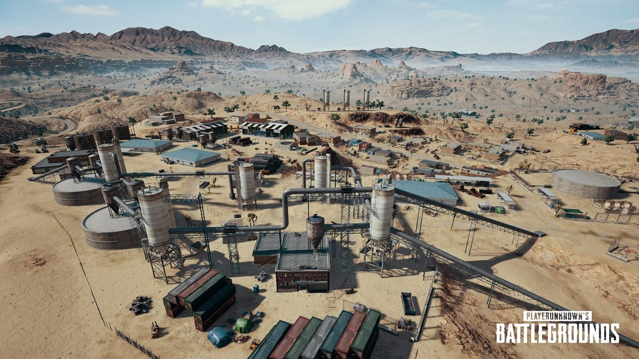 PlayerUnknown's Battlegrounds; mesto, miramar