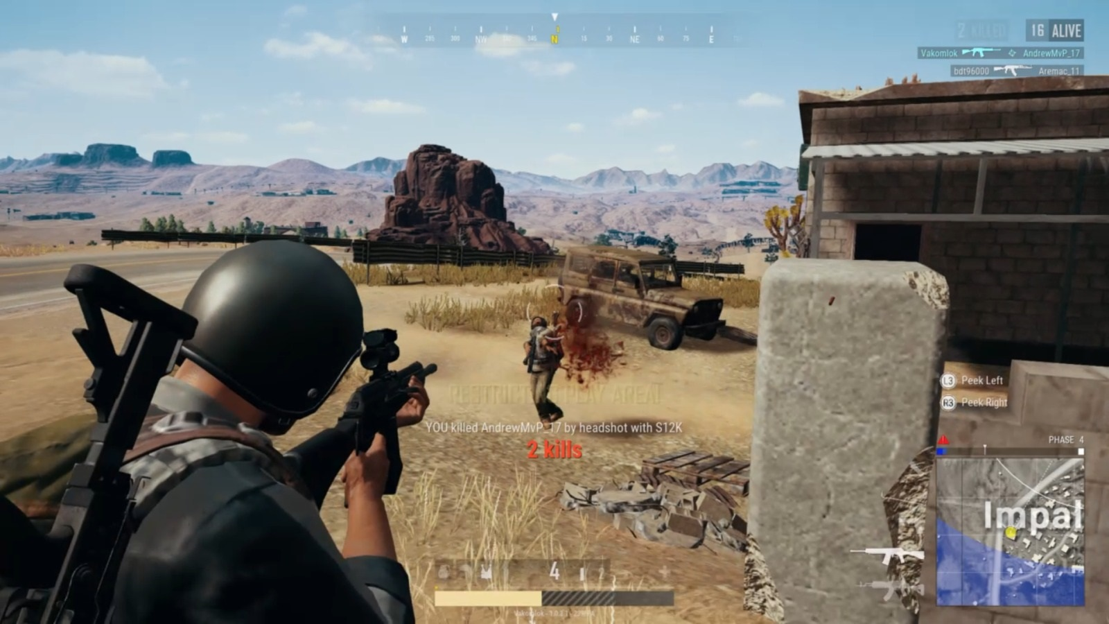 Player Unknown's Battlegrounds; gameplay: souboj