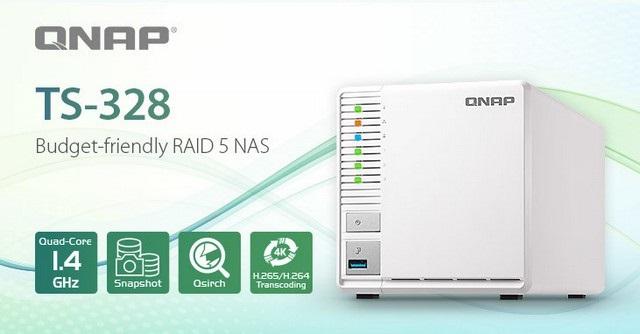QNAP TS-328 (RECENZE) – levný NAS s podporu RAID5