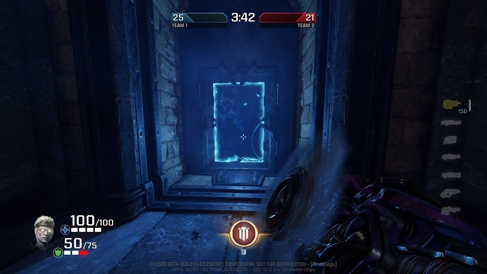 Quake Champions; Portal
