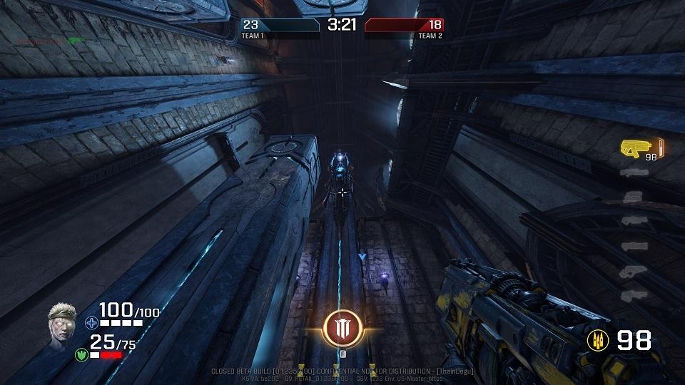 Quake Champions, Mistery hall