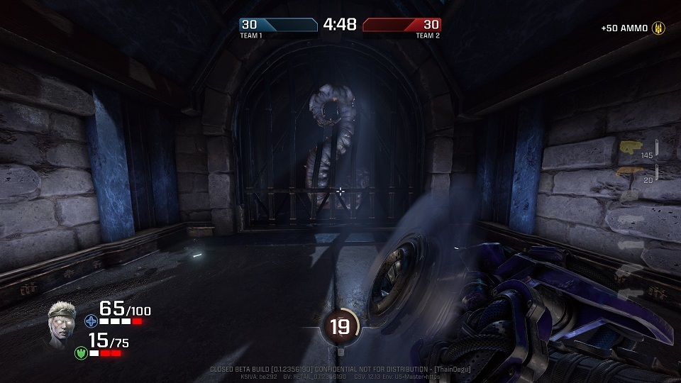 Quake Champions; Octopus on sight