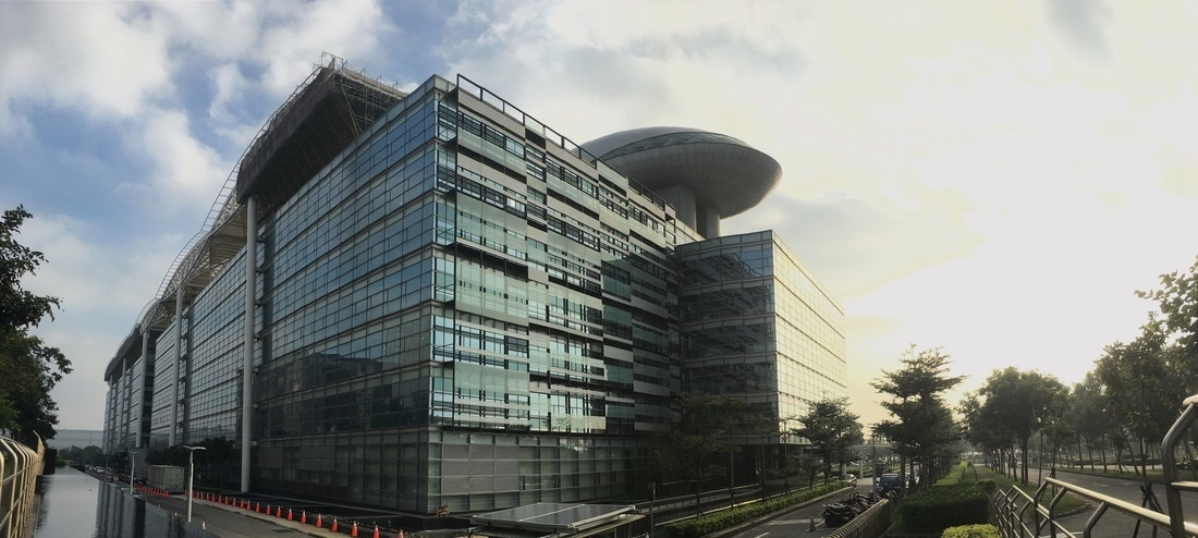 Quanta Computer - sídlo na Tchaj-wanu