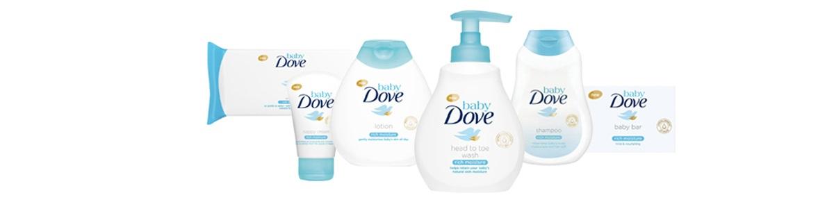 Otestováno maminkami: kosmetická řada Baby Dove