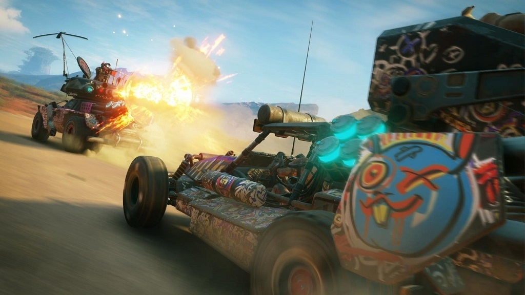 Rage 2; screenshot: buggy