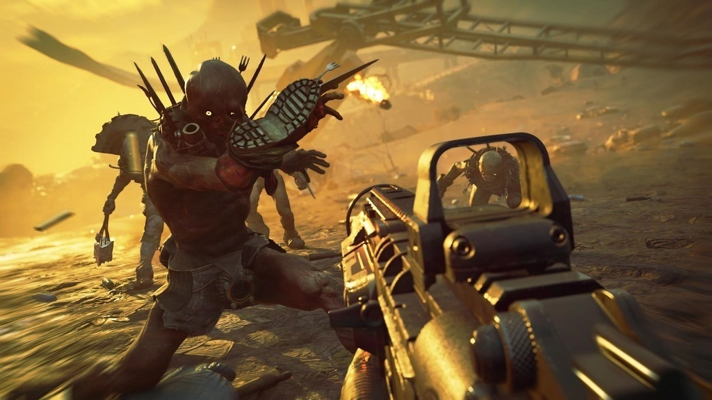 Rage 2; screenshot: gun