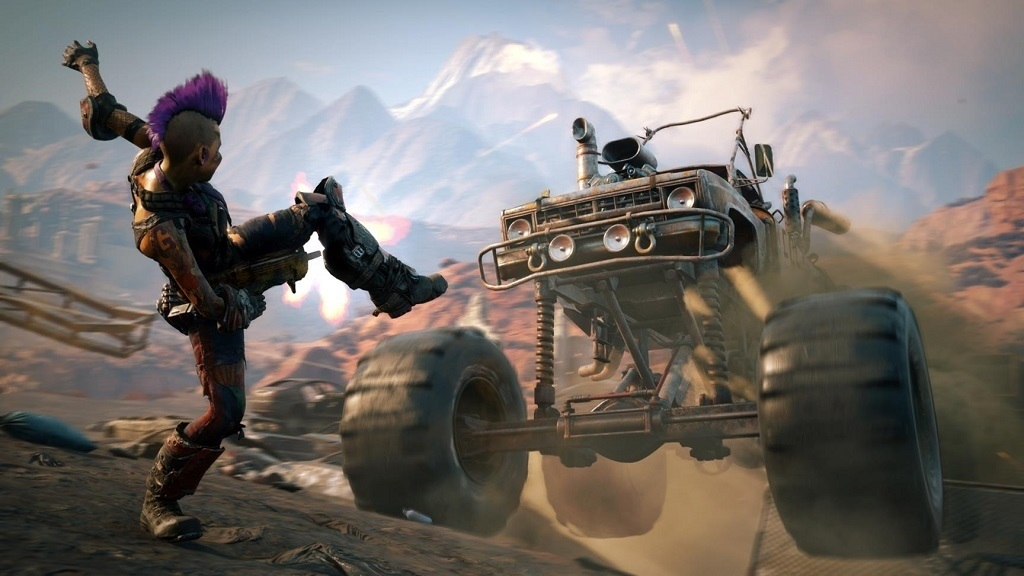 Rage 2; screenshot: monster truck