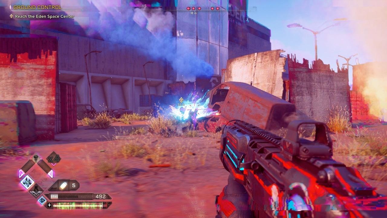 Nejočekávanější hry v roce 2019; Rage 2, screenshot: puška