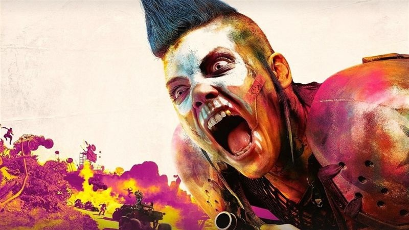 Rage 2; wallpaper: cover