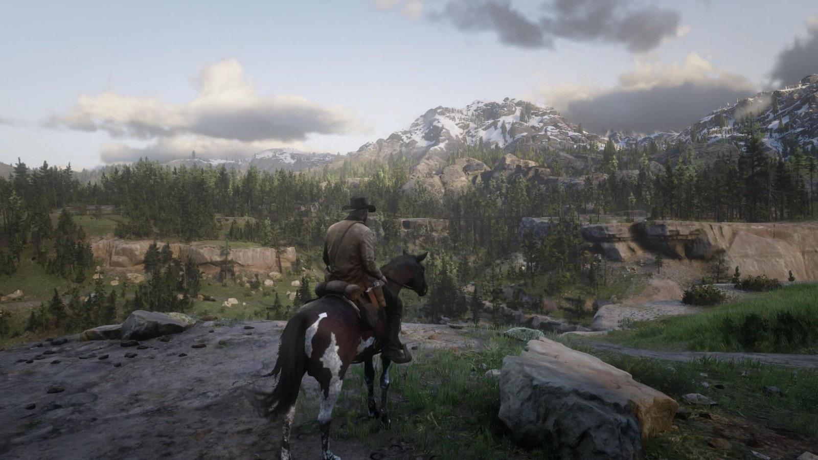 Red Dead Redemption 2; screenshot: krajina