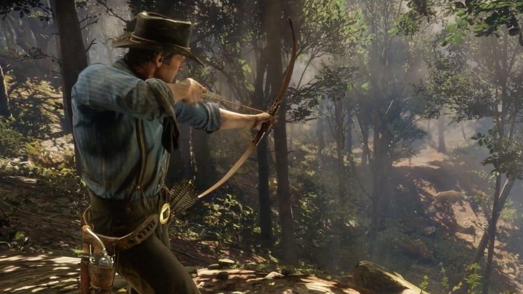 Nejočekávanější hry v říjnu 2018; Red Dead Redemption 2, screenshot: lov