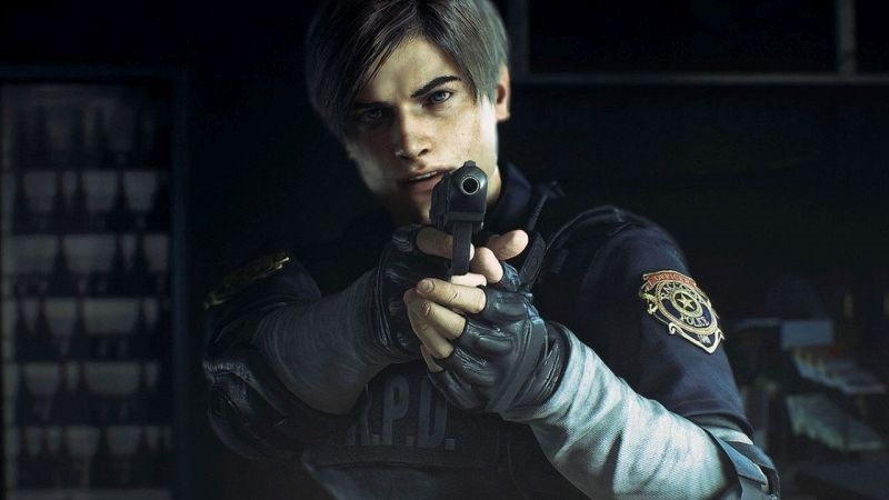 Resident Evil 2 Remake; wallpaper: Leon