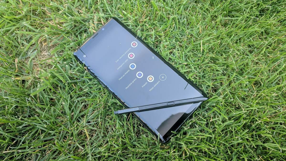 Samsung Galaxy Note9; recenze; pero s pen; telefon