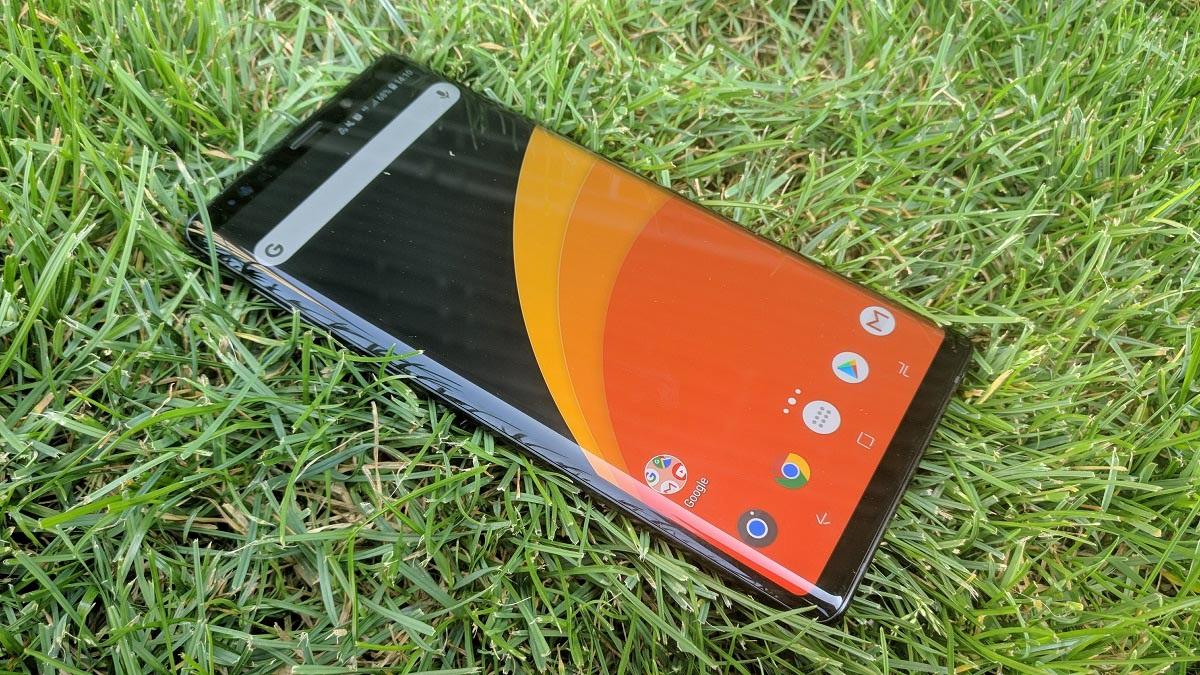 Samsung Galaxy Note9; recenze; displej